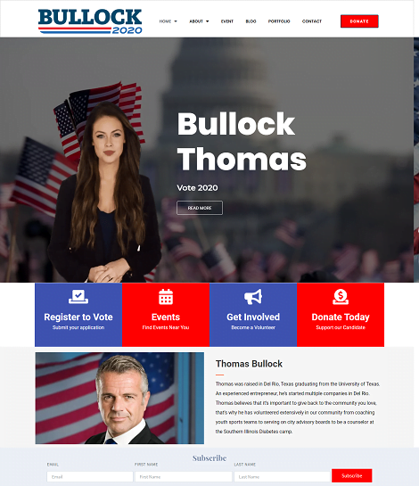 Political Campaign Themes